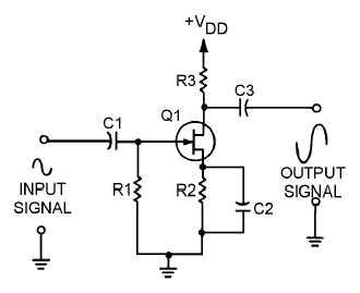 Figure 1-23.Transistor audio amplifier.