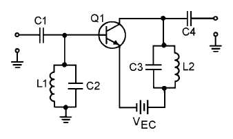 Figure 2-14.Simple rf amplifier