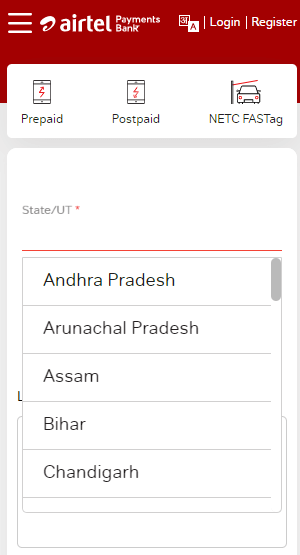 Electricity Bill Payment Through Airtel Payment Bank