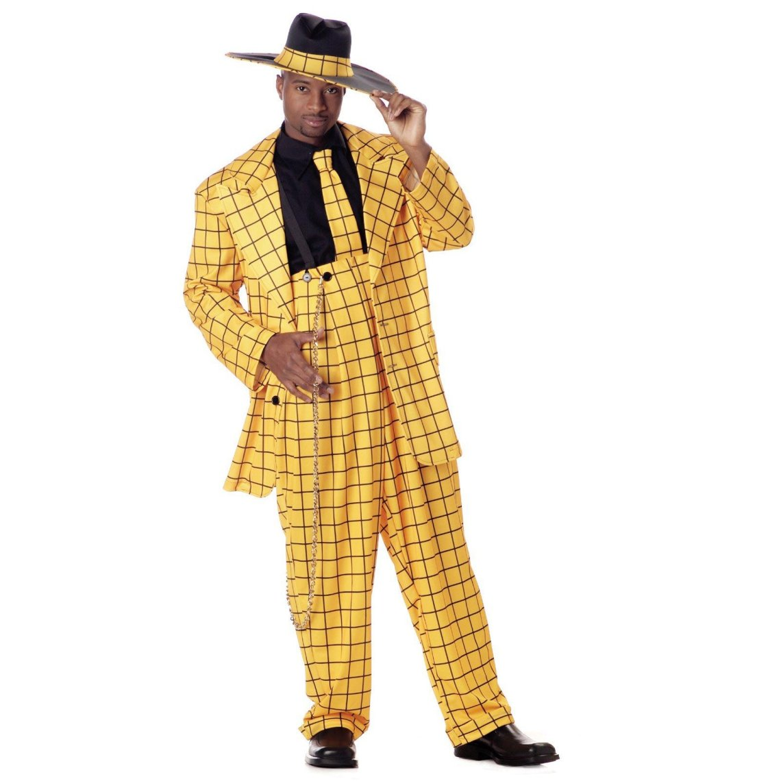 zoot suit yellow Swing Blouses