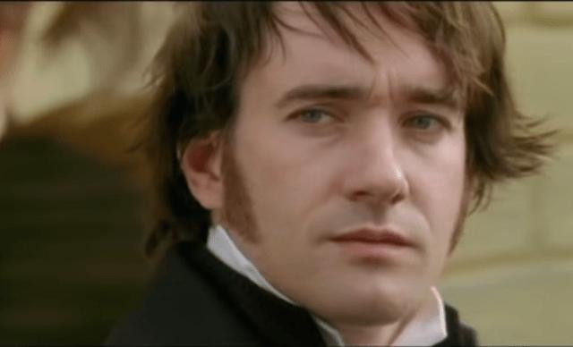 Mr. Darcy from the 2005 movie, played by Matthew Macfayden