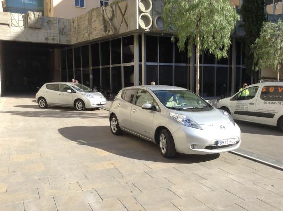Nissan-Leafs-Barcelona