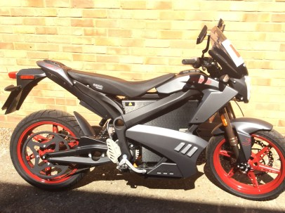 Zero Motorcycle side