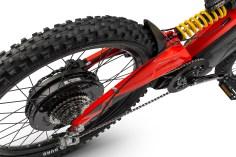 2Kw rear hub motor