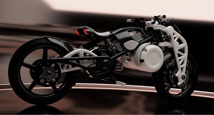 Psyche | The Lover | Curtiss Motorcycle Company | Electric Motorcycles News