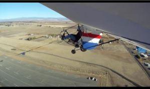 EMG-6 Test flight #3 Wing Cam (Video)