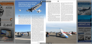 Aviators Hotline ( EMG-6 Electric Motor Glider Achieves First Flight)