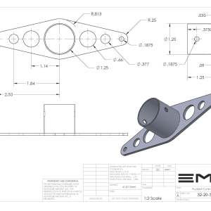 Rudder Control Arm