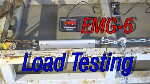 Load Testing the EMG-6 Strut Fittings (Video)