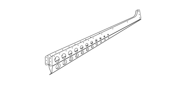 rudder rib 1
