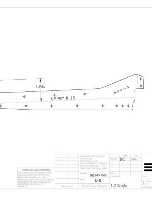rudder rib 5 right