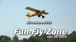 Fun Fly Zone - Light Sport Aircraft - July, 26 2019