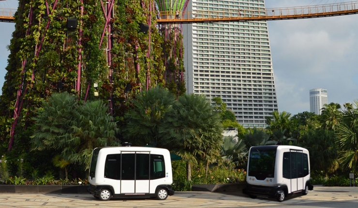 Autonomous buses take to the busy streets of Helsinki | TechCrunch