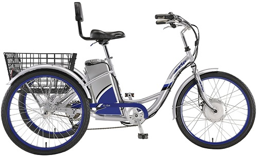 eZip Tri-Ride 3-Wheel Electric Tricycle Parts - ElectricScooterParts.com