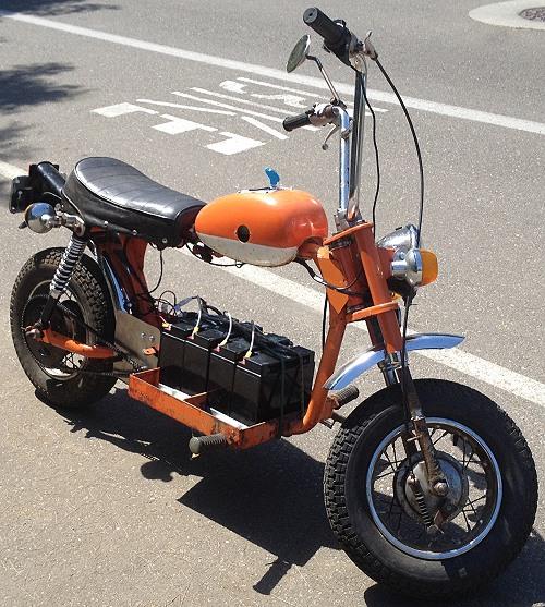 Homemade Mini Bike Gas Tank Bicycling And The Best Bike Ideas