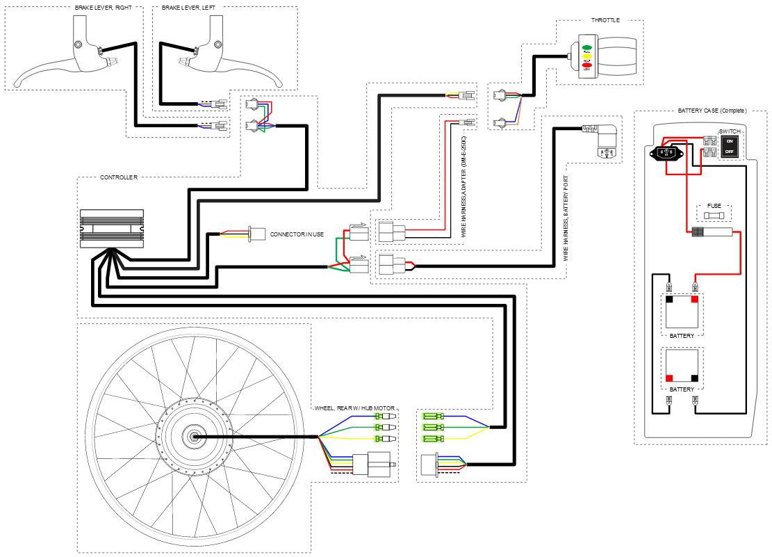 Schwinn S350 Electric Scooter Wiring Diagram. . Wiring Diagram