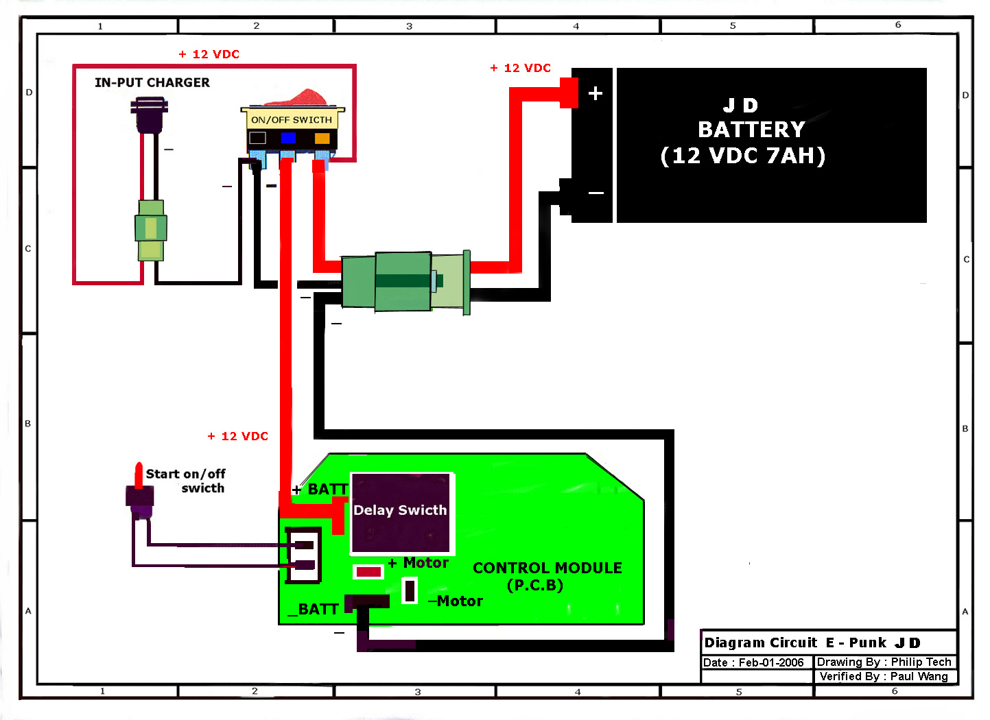 Razor E100 Battery Wiring Diagram Trusted Schematics 650 Electric Schematic E Scooter