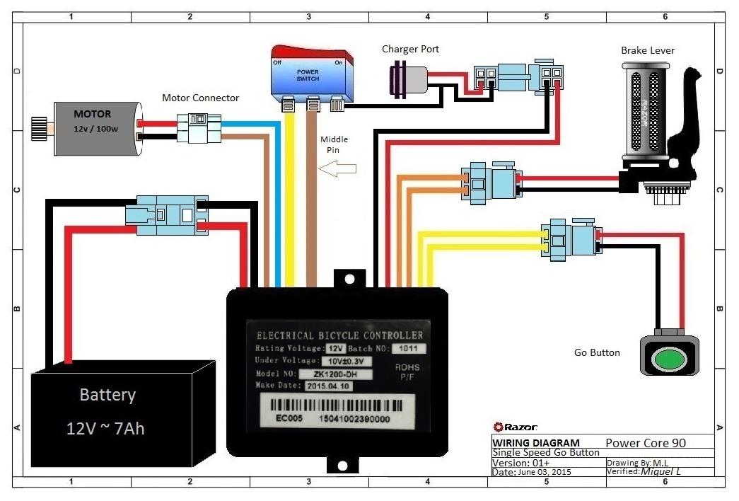 crazy cart wiring diagram