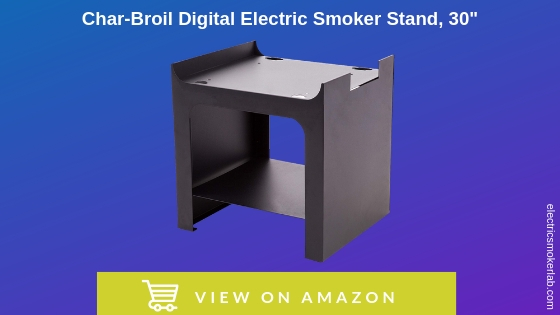 """Best Char-Broil Digital Electric Smoker Stand, 30"""""""
