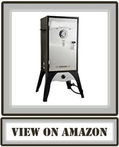Best Camp Chef Smoker 18-Inch Smoke Vault Large with Stainless Door and Adjustable Shelves (SMV18S)