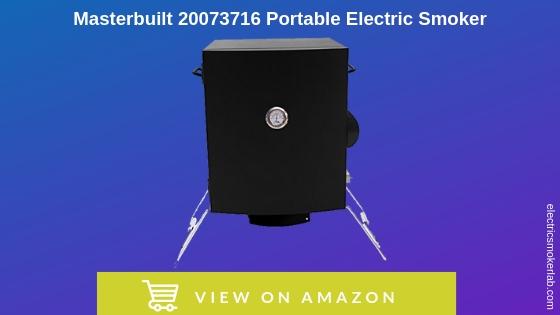 Masterbuilt 20073716 Portable Electric Smoker Patio, Lawn & Garden ...