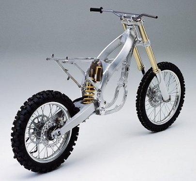 motocross crf450rframe  Electric trials bike Project