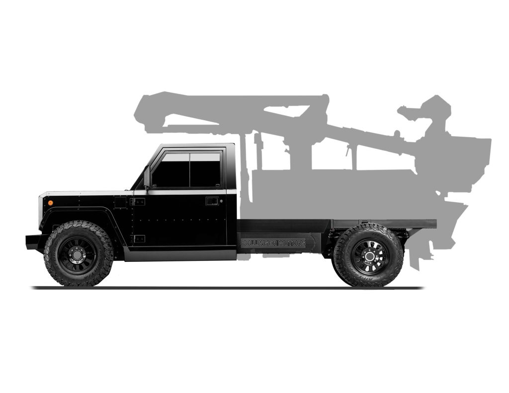 Bollinger B2 Chassis Cab - side