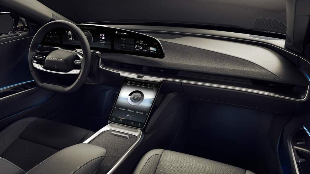 Lucid Air Mojave interior