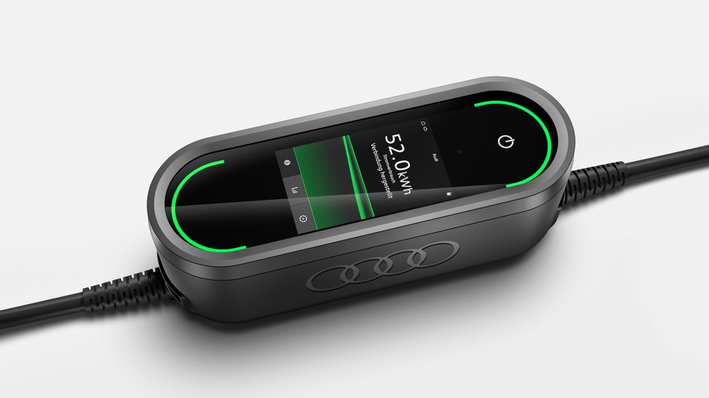 e-tron charging system