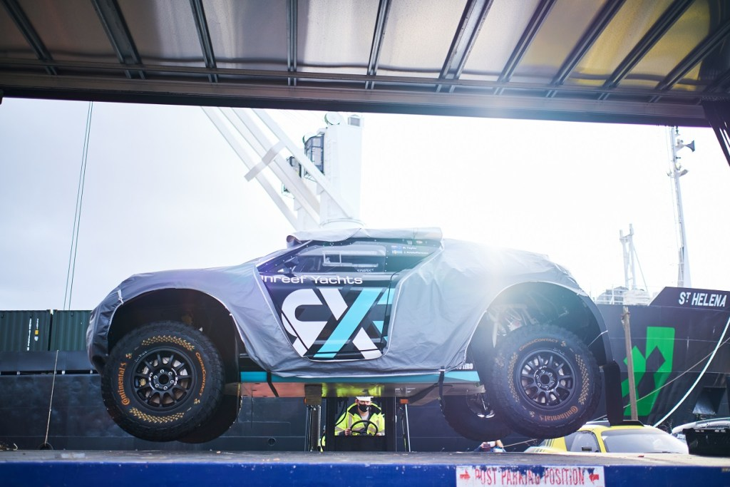 Loading Rosberg Xtreme Racing's ODYSSEY 21