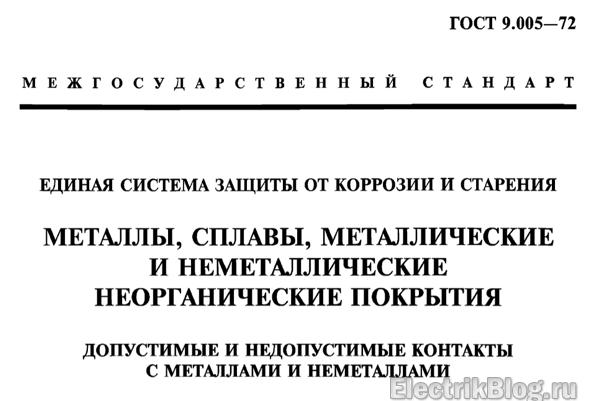 ГОСТ 9.005-72