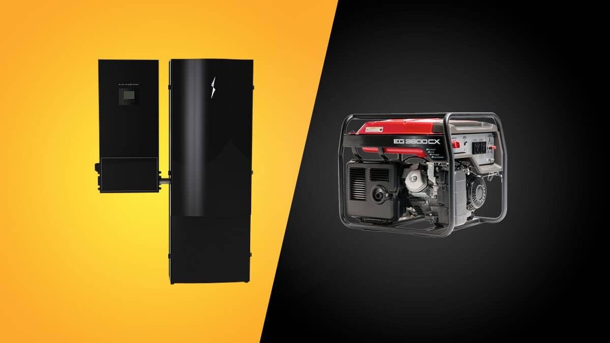 Energy Storage vs Generator