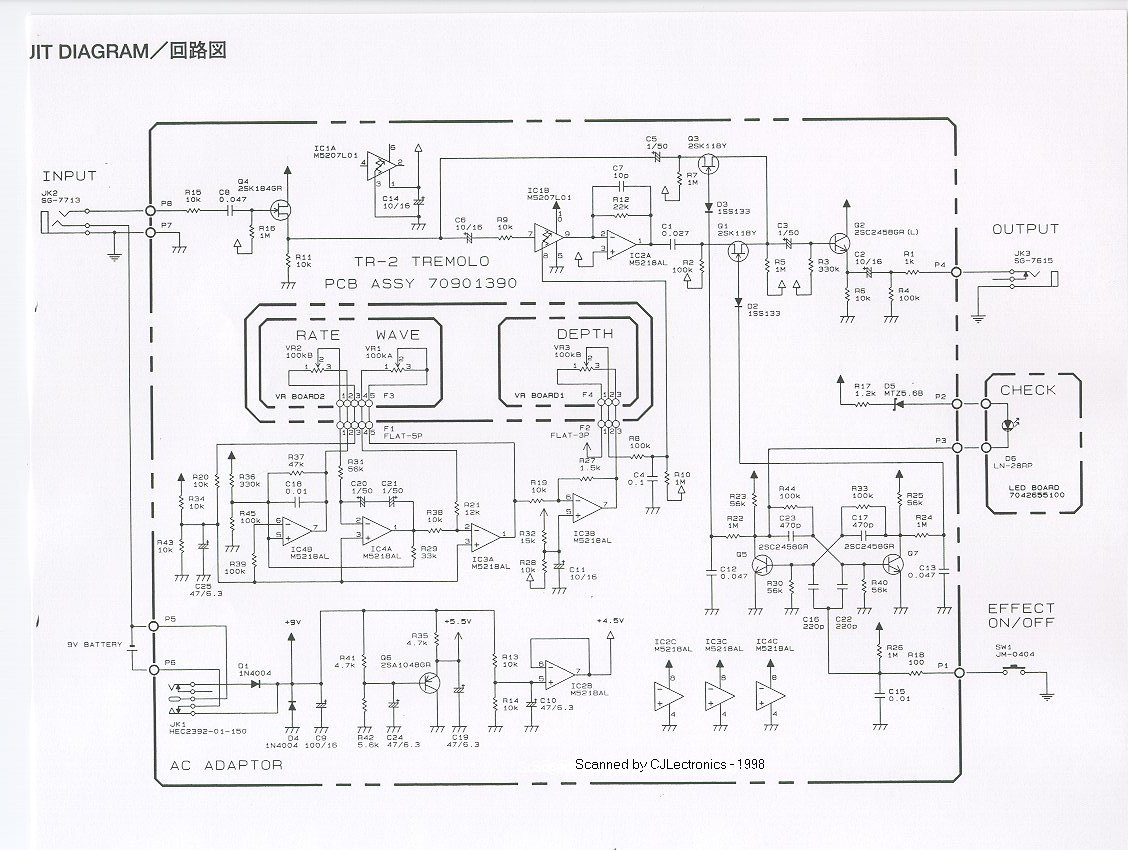 Guitar Pedal Schematics Pictures to Pin on Pinterest