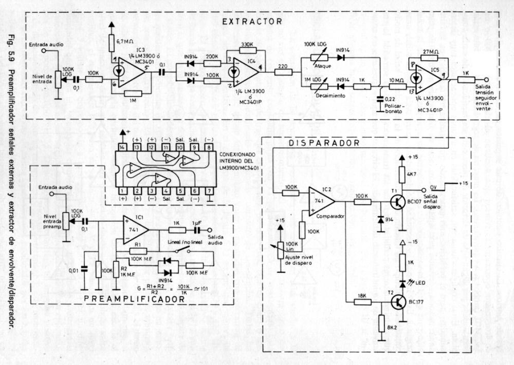 medium resolution of bermudez preamplificador extractor disparador