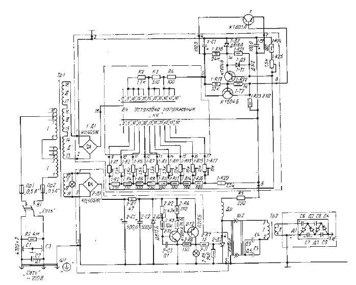 Схемы (circuits), сервисные инструкции (service manual