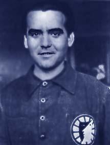 Le poète espagnol Federico Garcia Lorca, né en 1898 et fusillé le 19 août 1936 par les facistes espagnols.
