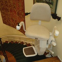 Bruno Lift Chair Caps Covers Phoenix Az Stairlifts Stair Acorn Lifts
