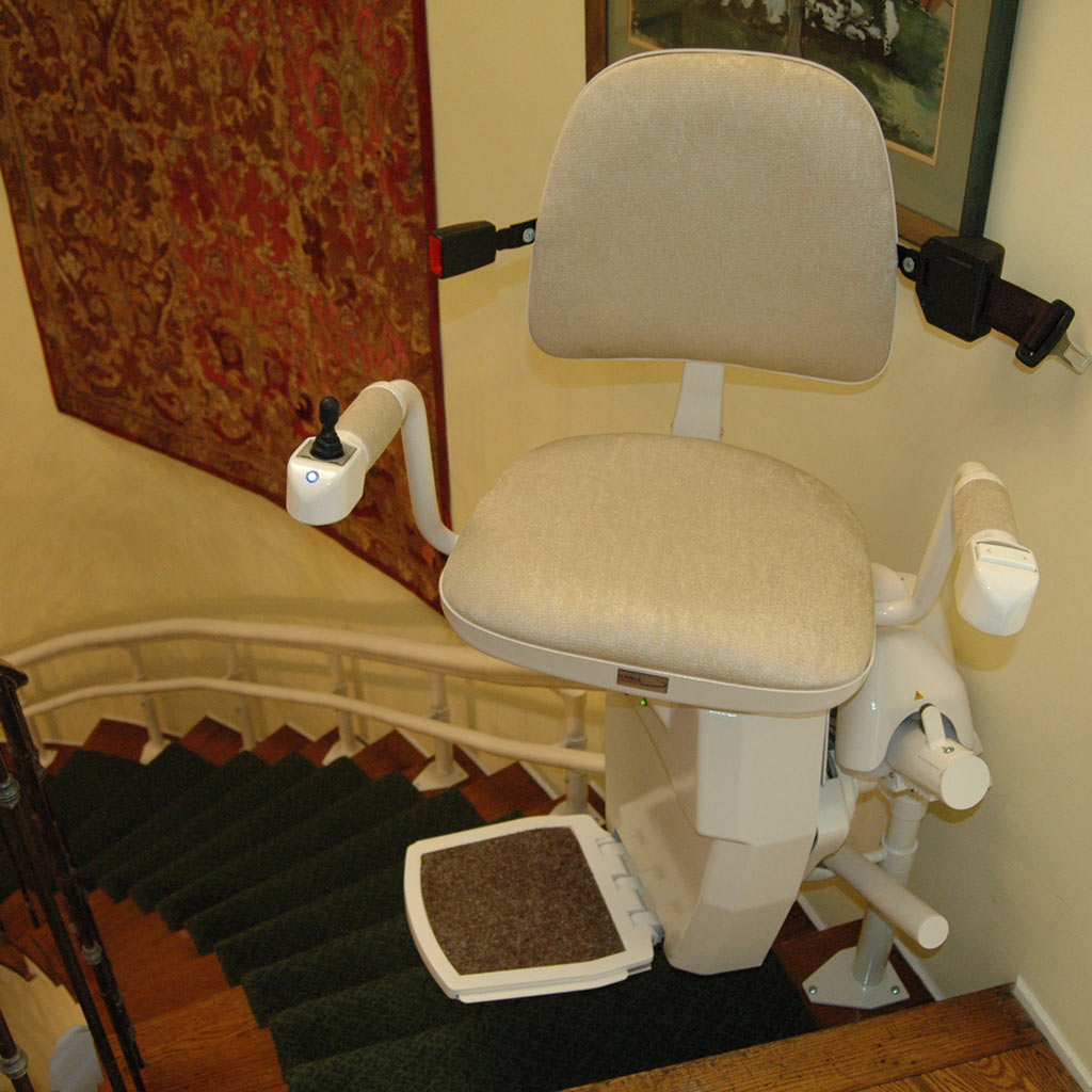 bruno chair lift maintenance burnt orange armchair uk phoenix az stairlifts stair acorn lifts