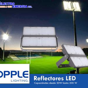 REFLECTOR LED FL-E 200W 5700K LUZ BLANCA