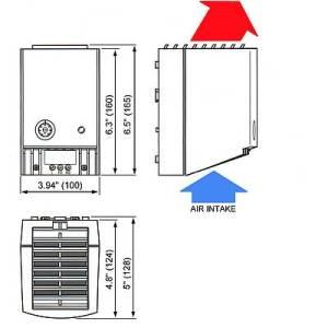 CALENTADOR  CR027 – 400W