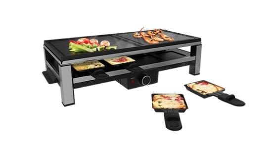 Raclette de Queso y grill