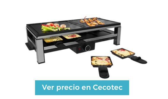comprar raclette cecotec