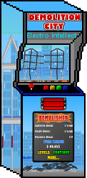 Demoliton City Arcade Machine