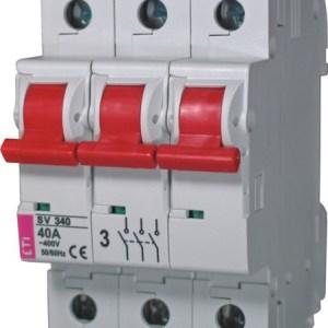 Модульные выключатели нагрузки SV