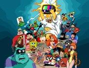 80s cartoon and 90s nickelodeon