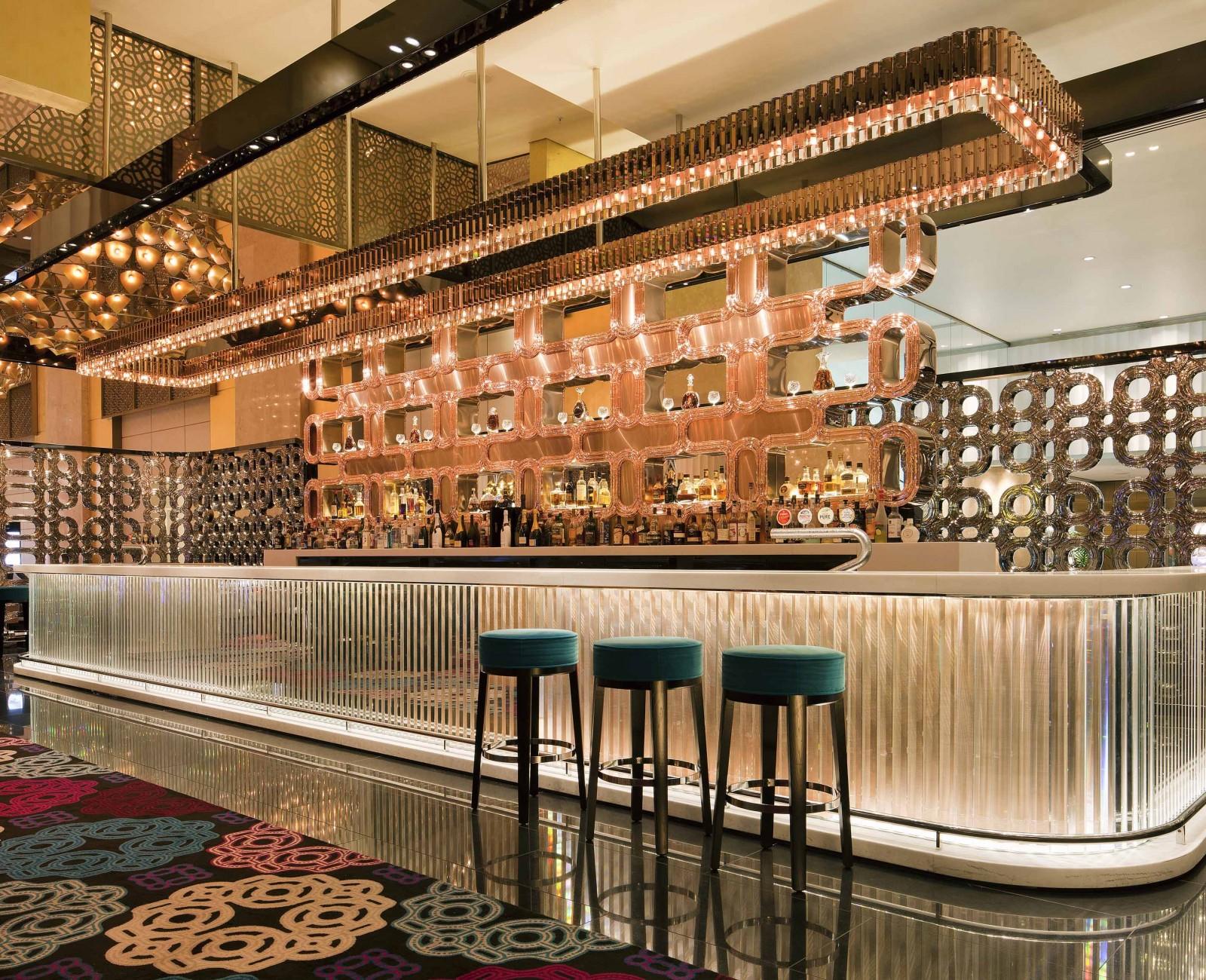 Electrolight Atrium Bar Crown Casino
