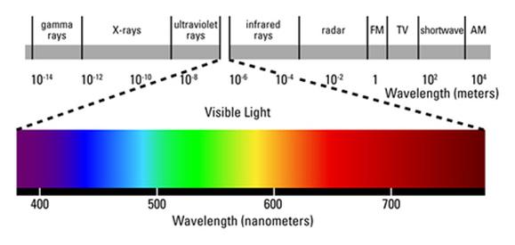 Visible Light - Electromagnetic Spectrum