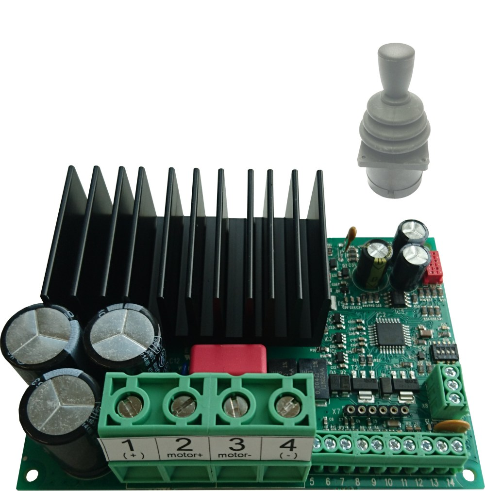 medium resolution of em 243c js1 is a full bridge dc motor starter it is designed for joystick controlled dc motor applications the driver has adjustable acceleration and