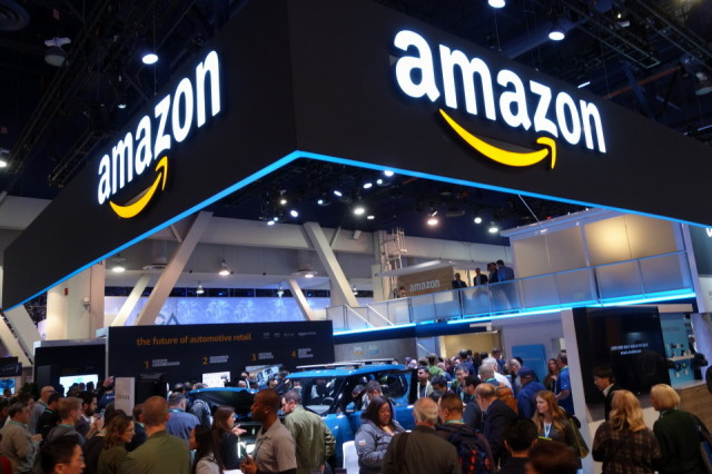Amazon at CES las Vegas 2020
