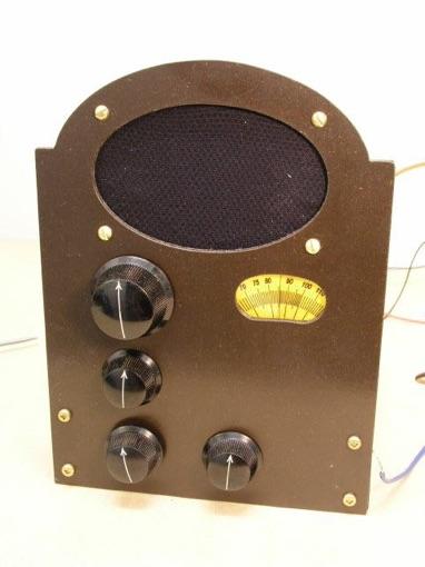 Indoor Antenna Schematic 1 Tube Double Reflex Superhet Receiver